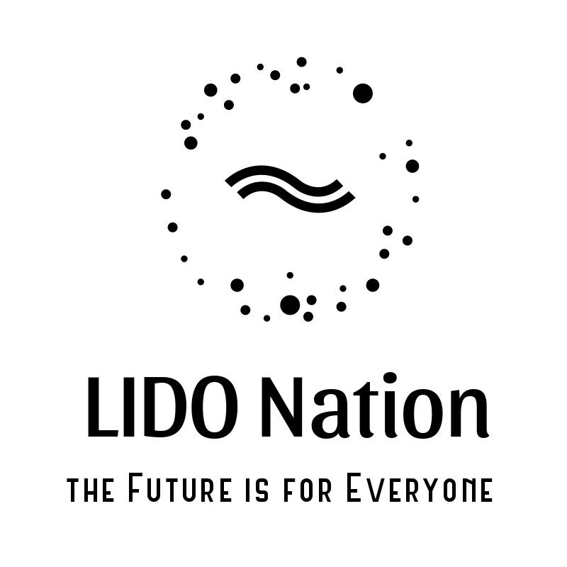 lidonation bare black logo